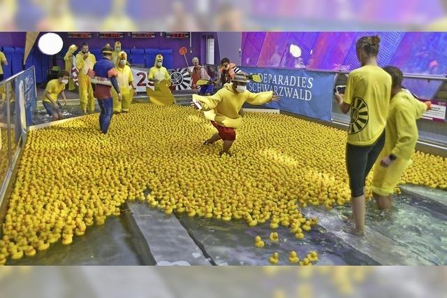 Titiseer Entenrennen für die Kinderklinik
