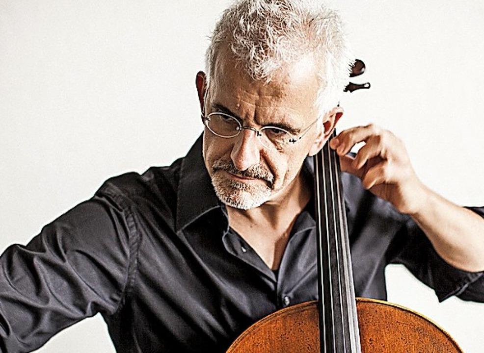 Cellist Juris Teichmanis  | Foto: wouter jansen
