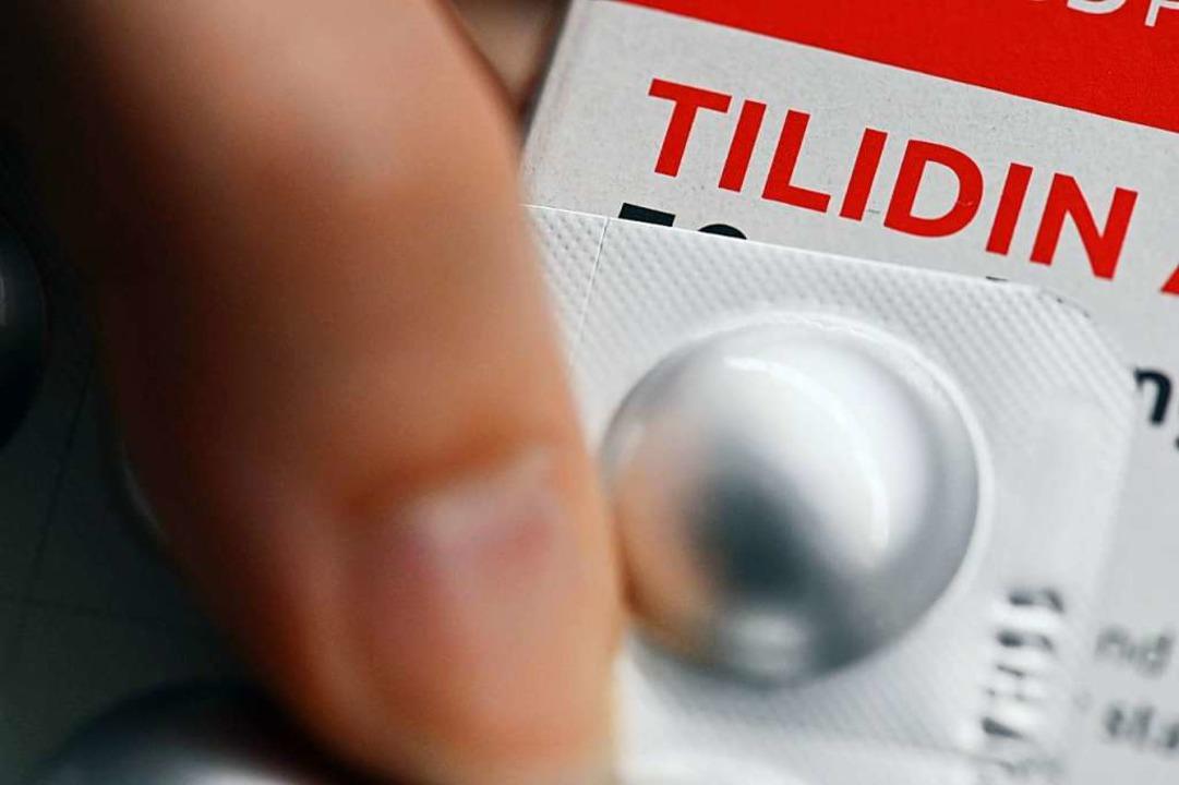 Im Internet blüht laut Experten der Sc...s verschreibungspflichtige Medikament.  | Foto: Uli Deck (dpa)