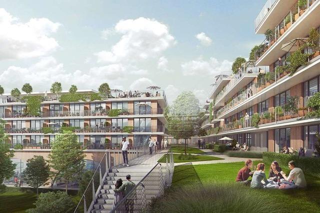Unmüßig will früheren Obi in Freiburg-St. Georgen teils abreißen und Wohnungen bauen
