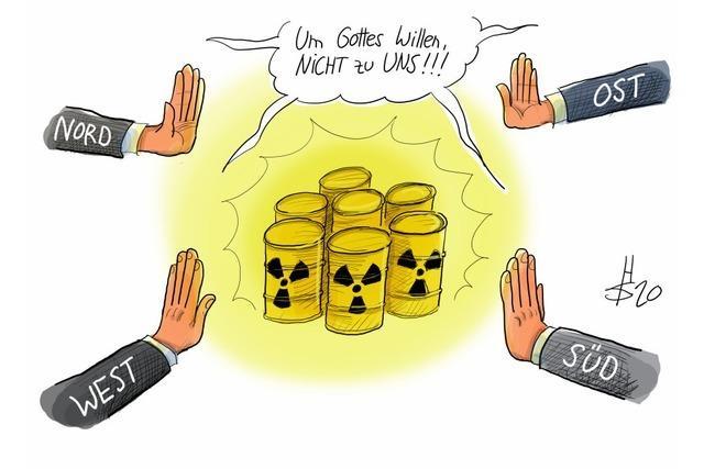 Endlagersuche: Wo die innere deutsche Einheit schon besteht