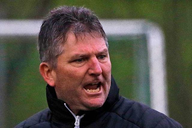 Stühlingens Coach Andreas Bauhuber: