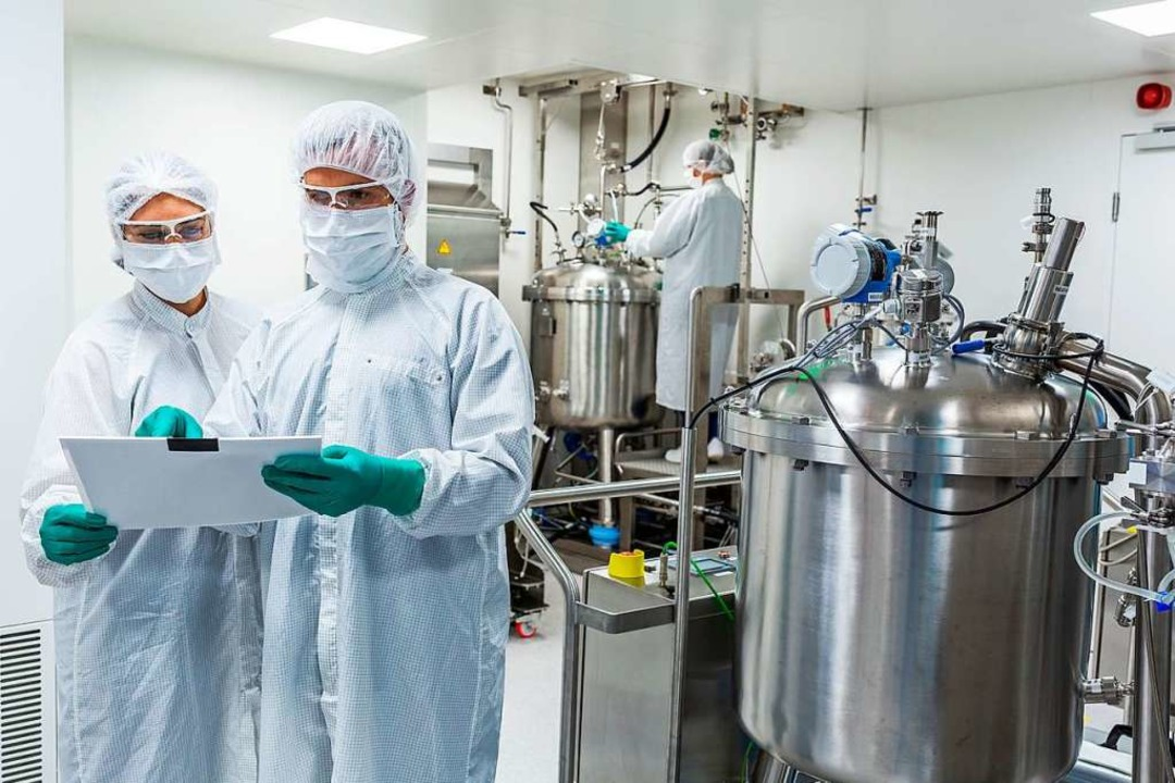 Blick in ein Curevac-Labor  | Foto: Curevac