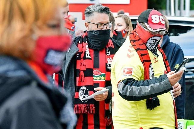 SC Freiburg und Behörden sind zufrieden mit der Umsetzung der Hygieneregeln