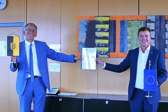4,2 Millionen für das Pilotprojekt des Abwasserzweckverbandes Staufener Bucht