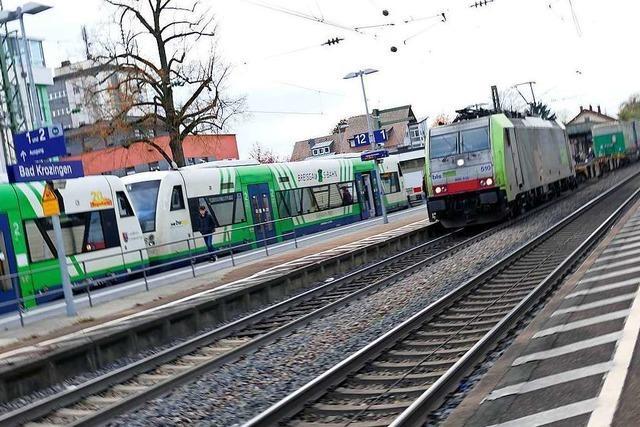 Viermal pro Stunde von Bad Krozingen nach Freiburg