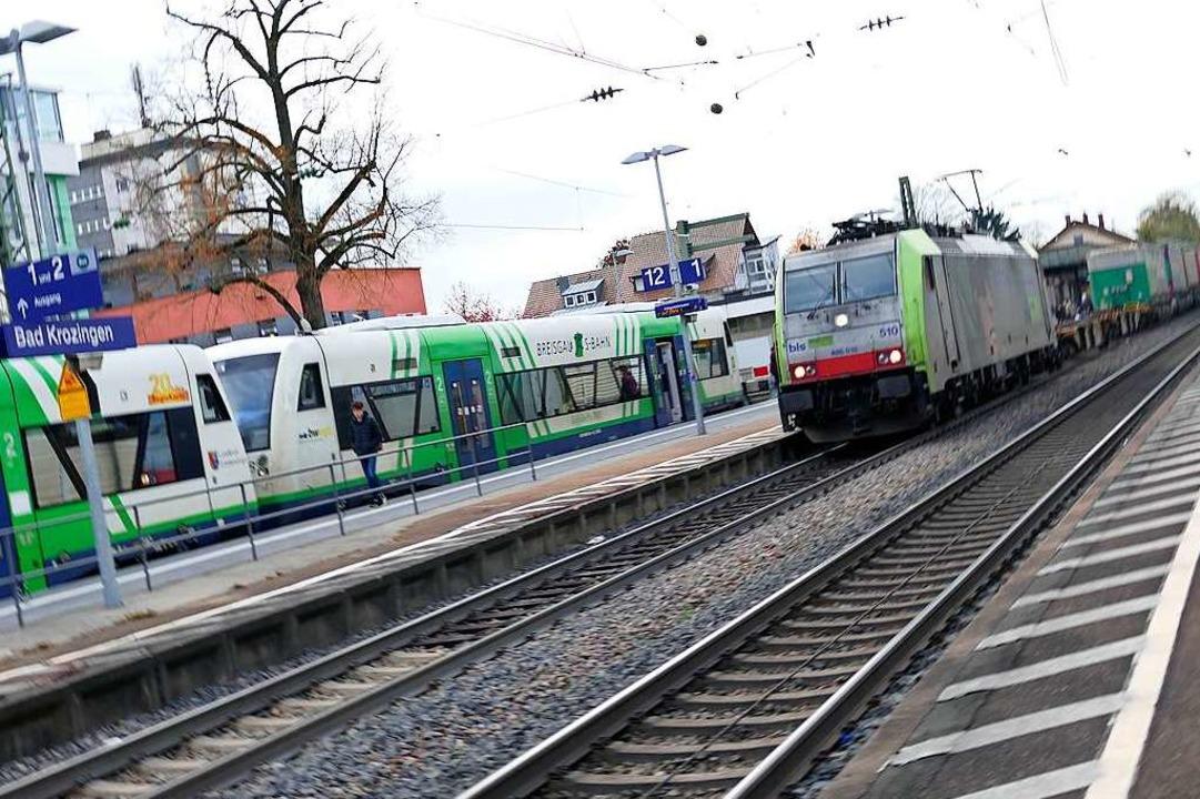 Noch fahren rund 180 Güterzüge täglich...llen es vornehmlich Personenzüge sein.    Foto: Frank Schoch