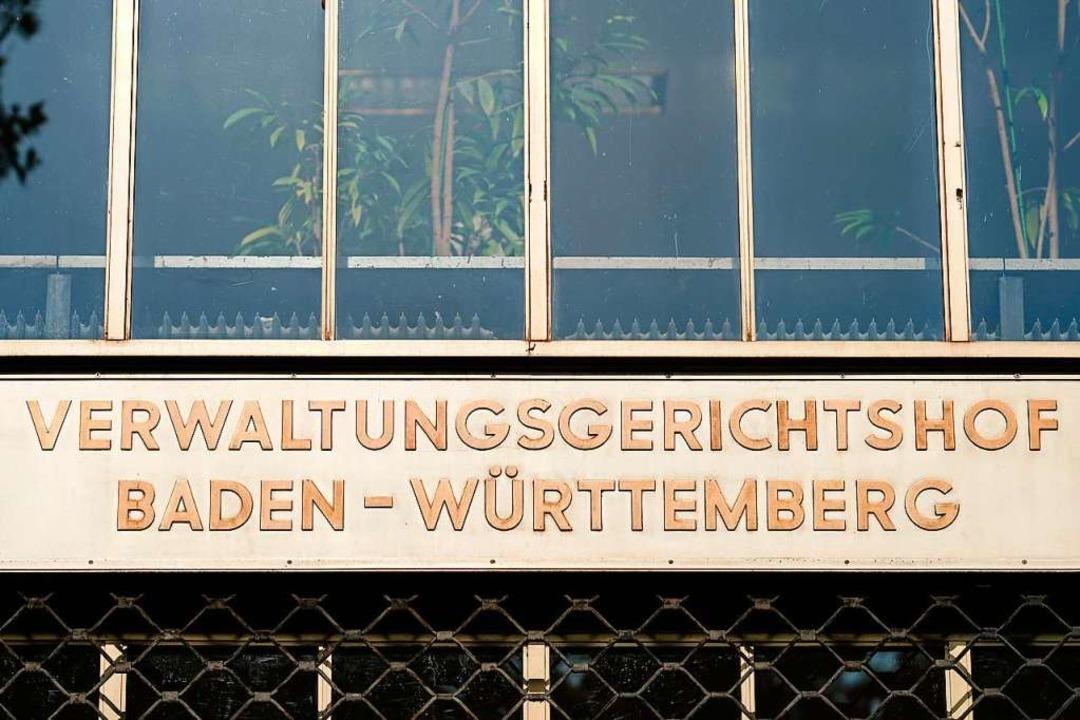 Der Verwaltungsgerichtshof Mannheim ha...eiburger Verwaltungsgerichts kassiert.  | Foto: Uwe Anspach (dpa)