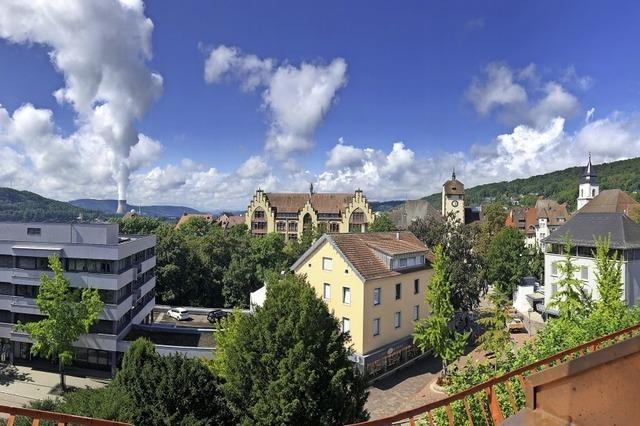 Über den Dächern von Waldshut