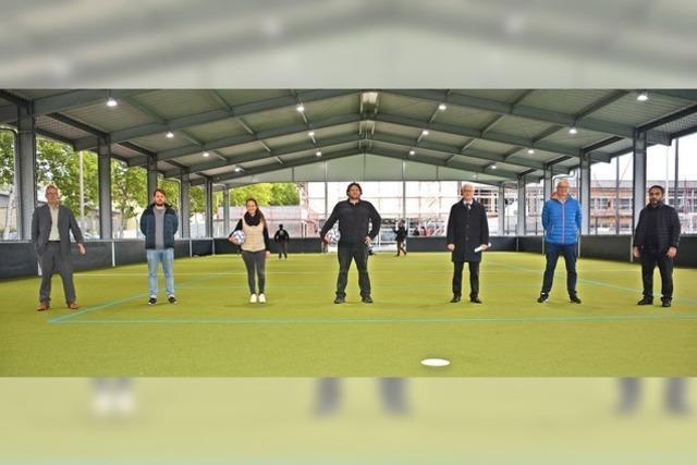 Sportanlagen in Friedlingen eingeweiht