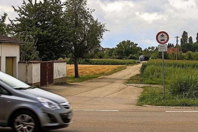 Straße am Bürgerhaus wird ausgebaut