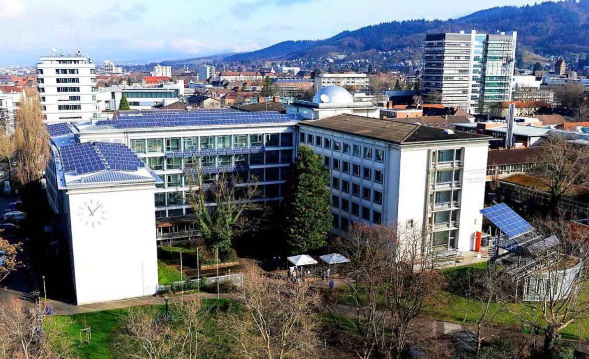41 Schülerinnen und Schüler sowie sech...enau-Gewerbeschule sind in Quarantäne.  | Foto: Ingo Schneider
