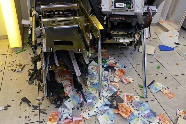 Wie Diebe Geldautomaten in der Region sprengen