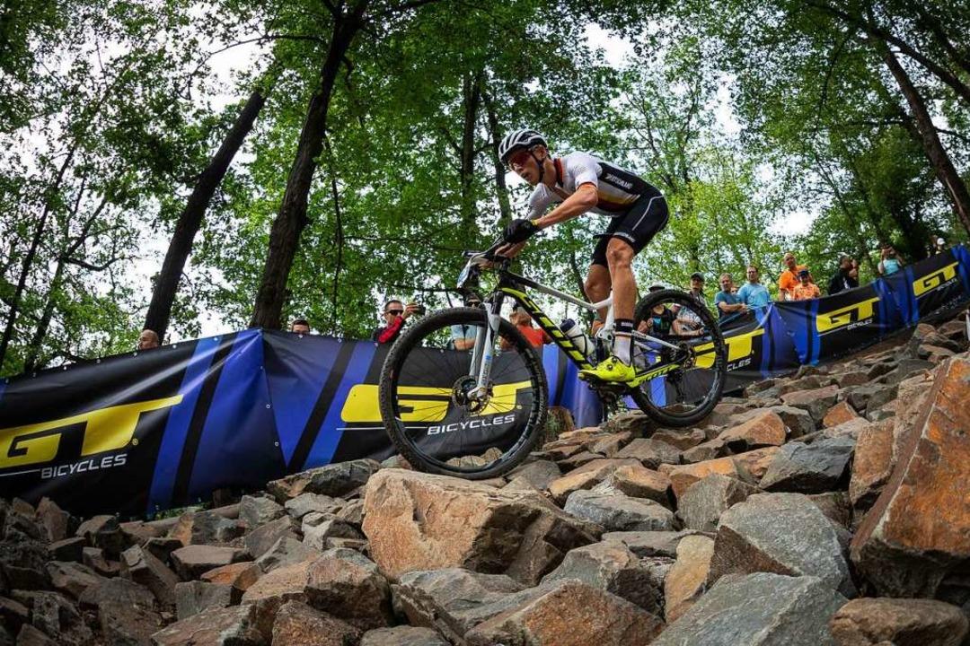 Für Max Brandl ging es in Nove Mesto mit einem fünften Platz bereits gut los.  | Foto: Max Fuchs