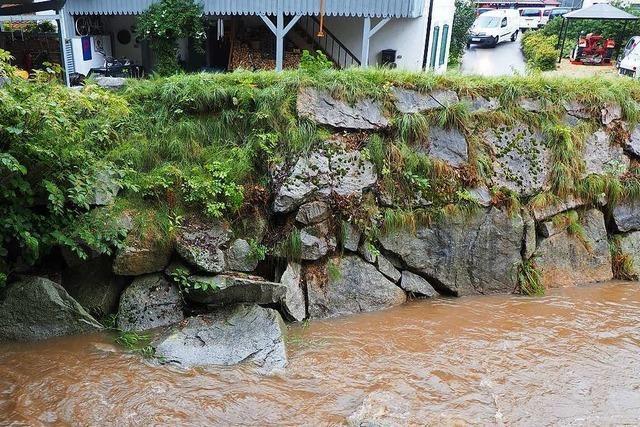 Beim Hochwasserschutz in Kandern muss nachgebessert werden