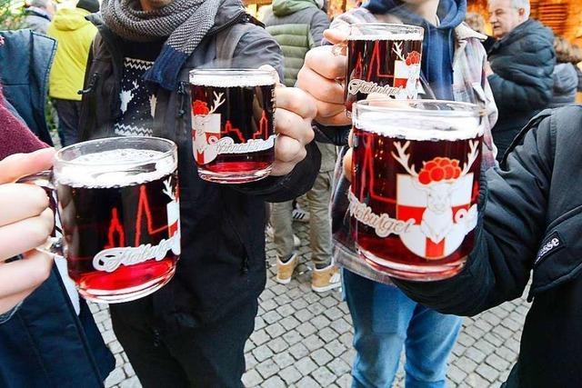 Beschluss: Kein Glühwein mit Alkohol auf dem Freiburger Weihnachtsmarkt