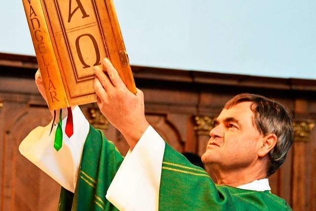 Pfarrer Werner Mühlherr verabschiedet sich von der Seelsorgeeinheit Dreisamtal