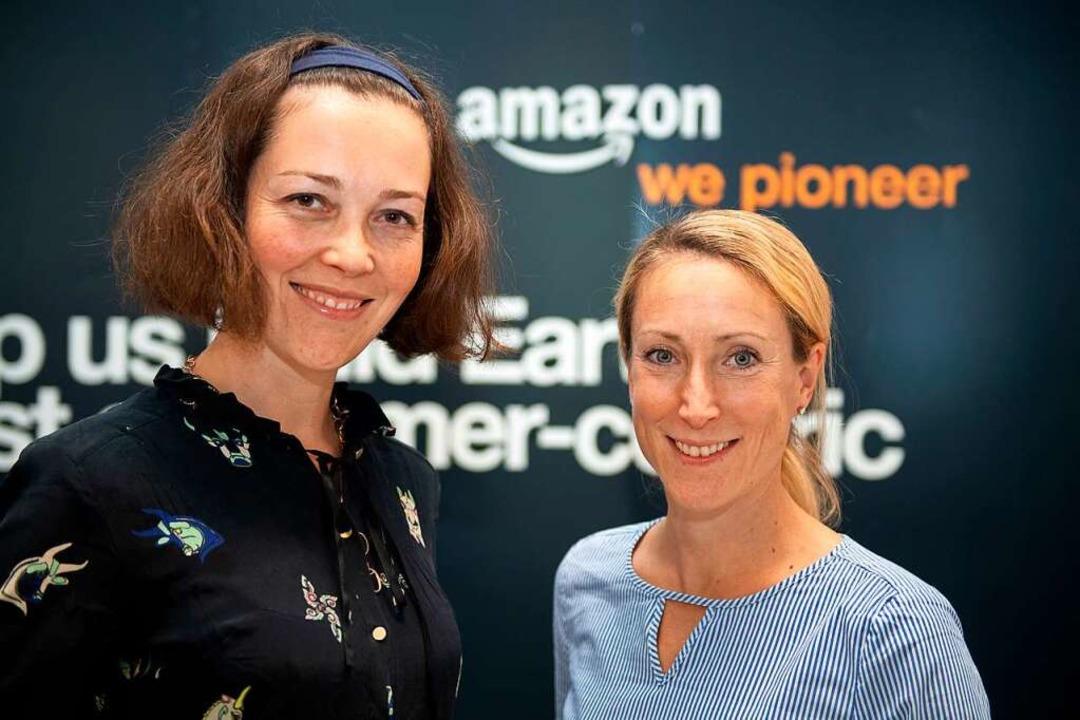 Tandem bei Amazon: Bianca Ebermayer (l.) und Eva Elsner  | Foto: Andrea Warnecke