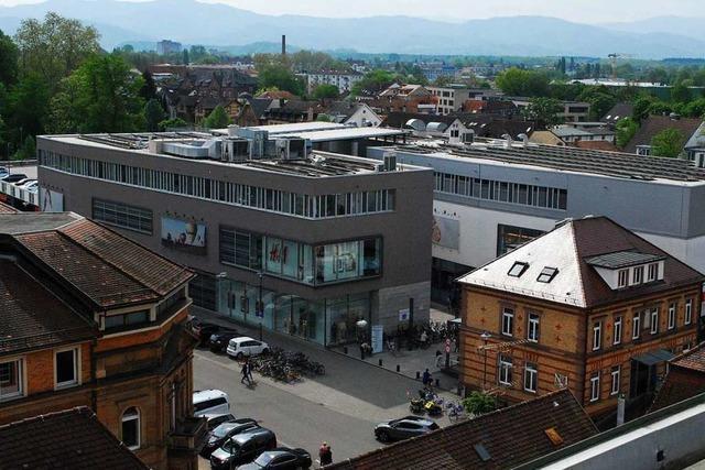 Seit zehn Jahren gehört die Merk-Galerie fest zur Innenstadt