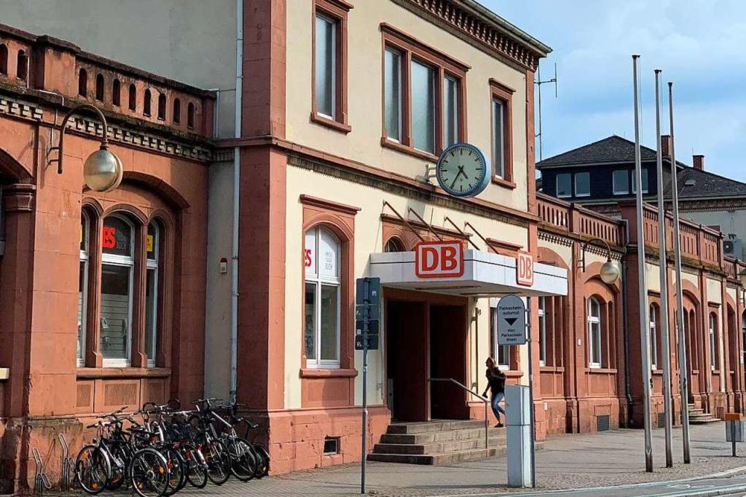 Tatort war am Sonntag, 20. September, Gleis 5 des Offenburger Bahnhofs.    Foto: Helmut Seller