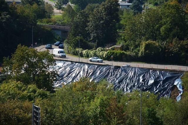 B3 bleibt in Weil am Rhein bis April halbseitig gesperrt