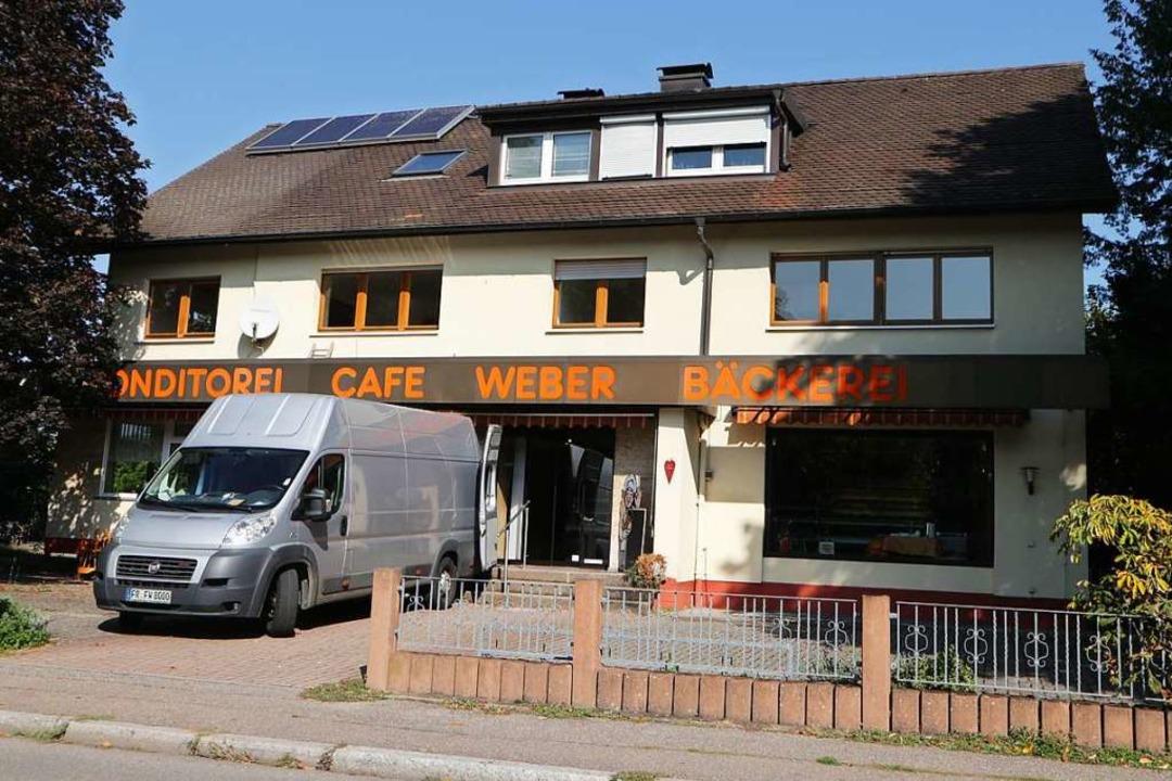 Die Umbauarbeiten am Café Weber sind gestartet.  | Foto: Alexander Huber