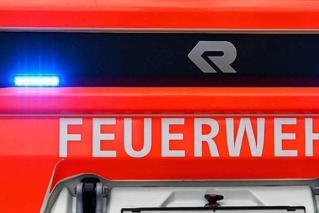 Feuerwehr evakuiert Supermarkt in Schopfheim-Fahrnau