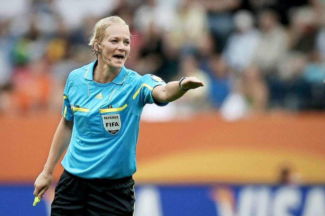 Bei der Frauenfußball-WM 2011 in Frankfurt  | Foto: Roland Holschneider