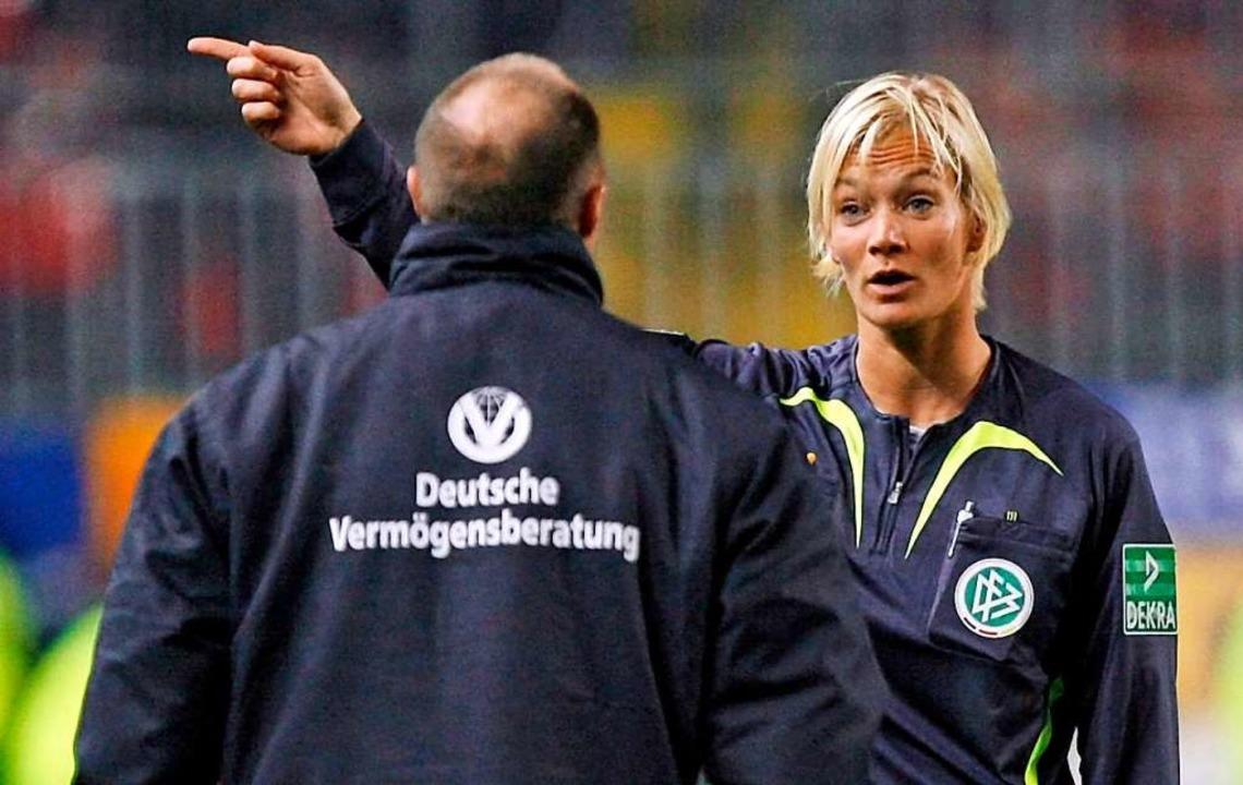 Bei einem ihrer ersten Spiele in der Bundesliga  | Foto: dpa