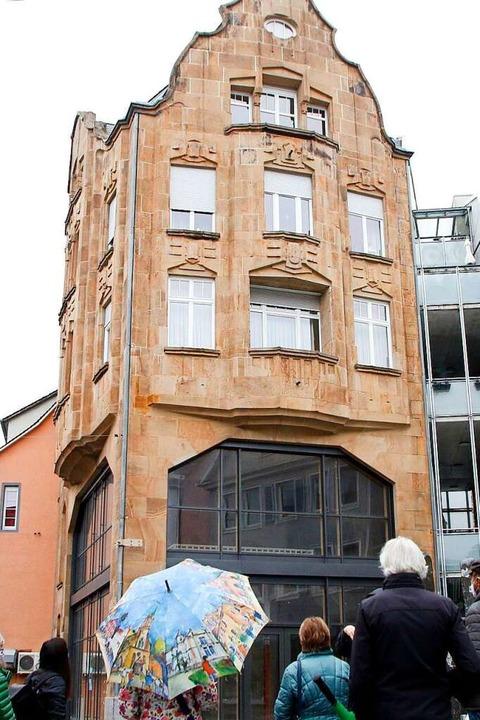 Das sogenannte Menzer-Haus in der Kaiserstraße   | Foto: Heidi Fößel