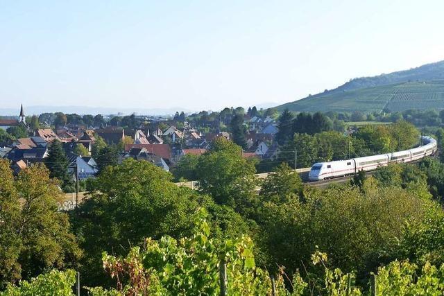 Bahn will mit Bohrungen für den geplanten Tunnel am Batzenberg beginnen