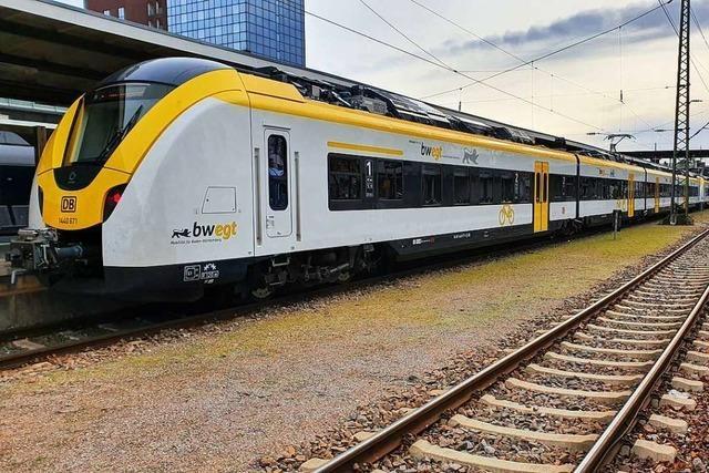 Wieder fällt ein Zug der Breisgau-S-Bahn am Kaiserstuhl aus