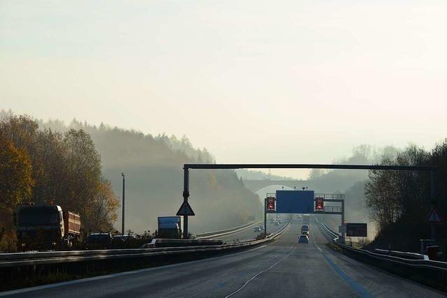 A98 zwischen Lörrach und Rheinfelden nach Böschungsrutsch gesperrt