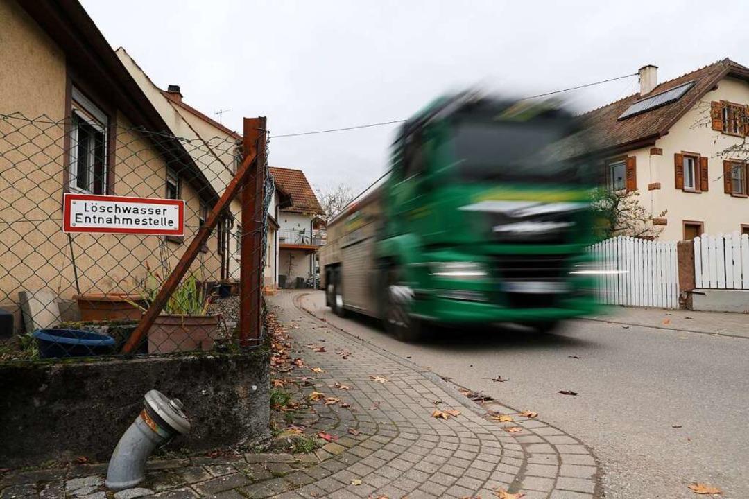 Die Ortschaftsräte befürchten mehr Verkehr.    Foto: Christoph Breithaupt