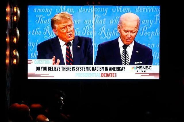 Nach dem TV-Duell sind selbst Republikaner erschrocken über Donald Trumps Ton