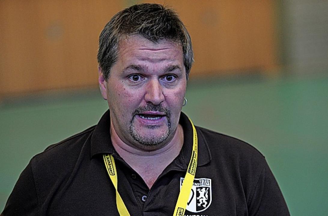 TuS-Coach Jochen Baumann  | Foto: Bettina Schaller
