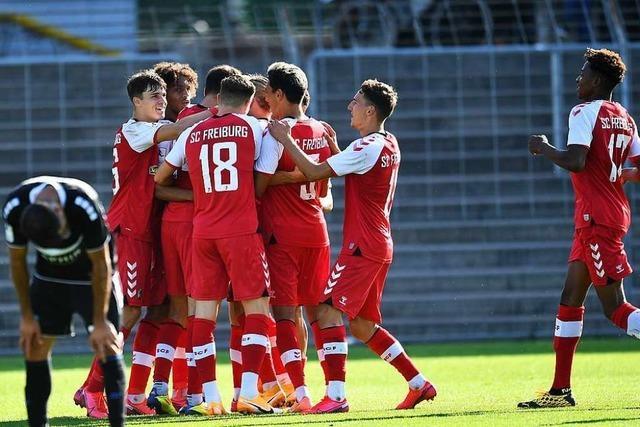 SC Freiburg II kehrt eindrucksvoll an die Tabellenspitze zurück