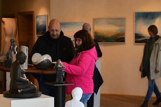 Mehr als 30 Künstler zeigen am Wochenende in Sulzburg ihre Werke