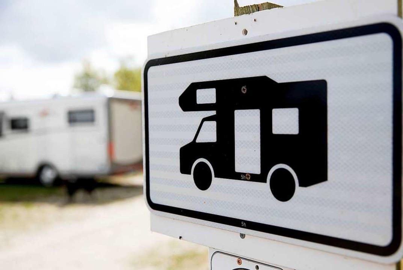 Am Belchen sollen Stellplätze für Wohnmobile enstehen    Foto: Florian Schuh (dpa)