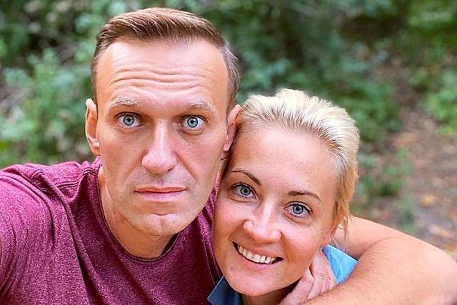 Nawalny macht Putin für seine Vergiftung verantwortlich