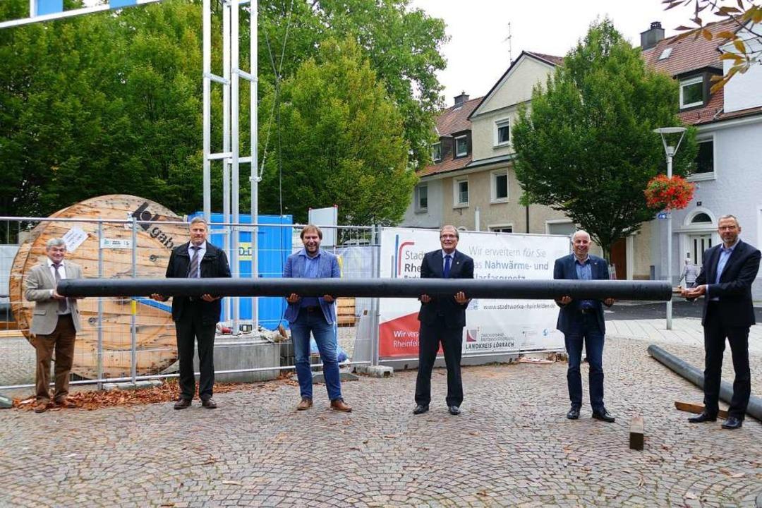 Packen die Wärmeversorgung an (von lin...berhardt, Tobias Obert und Olaf Breuer  | Foto: Verena Pichler