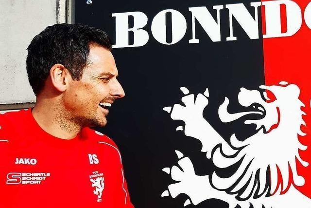Bonndorf-Coach Björn Schlageter: