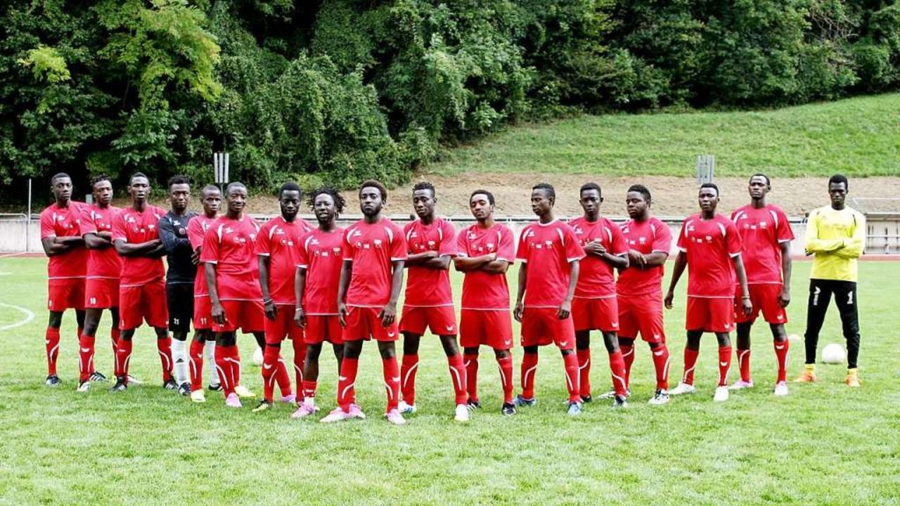 Mannschaftsfoto: Team Afrika  | Foto: privat