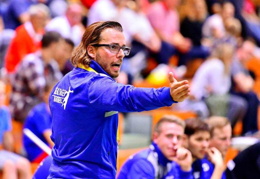 Engagierter Coach in Kenzingen: Florian König  | Foto: Daniel Thoma