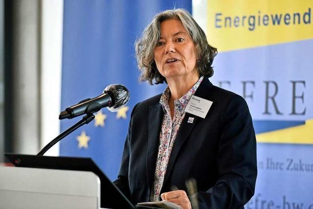 Kerstin Krieglstein führt nun als Rektorin die Freiburger Universität