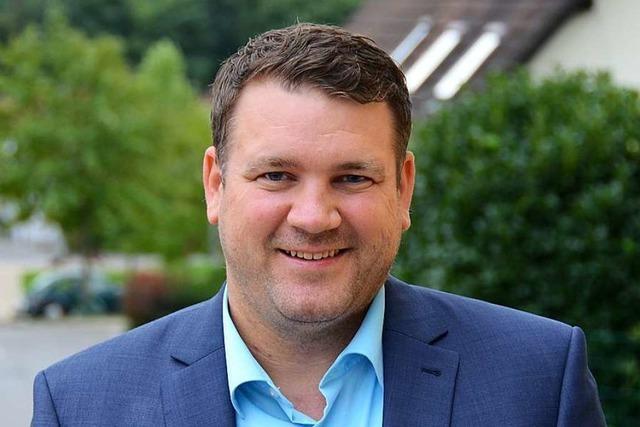 Dominik Kiesewetter ist Geschäftsführer beim GVV Vorderes Kandertal