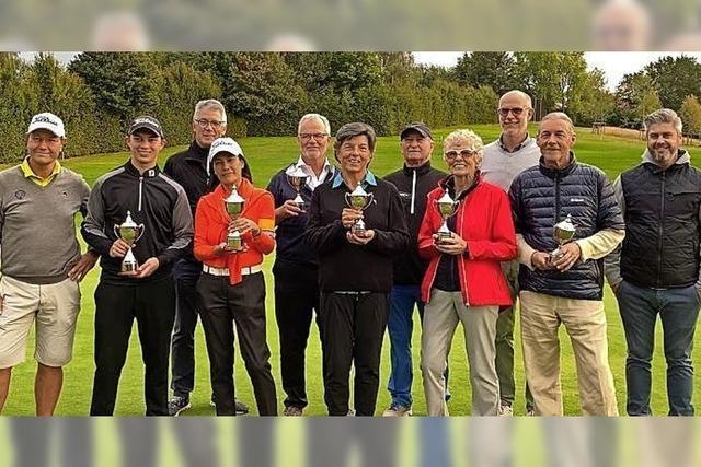 Amelita Gerdum und Callum Dew sind die besten Golfer 2020