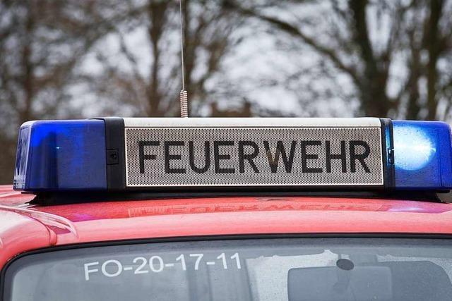 Müllheimer Wehr rückt wegen Fehlalarmen in Werderstraße und an Schule aus