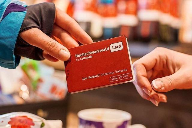 Das System der Hochschwarzwaldcard soll verbessert werden