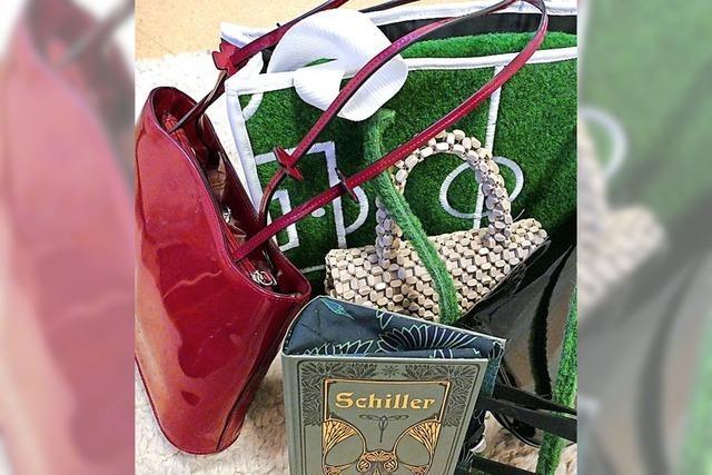 Handtaschen suchen neue Besitzerinnen